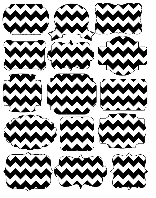 chevron in black and style free printable first communion tags oh my labels chalkboard coloring pages Free Printable Chevron Labels