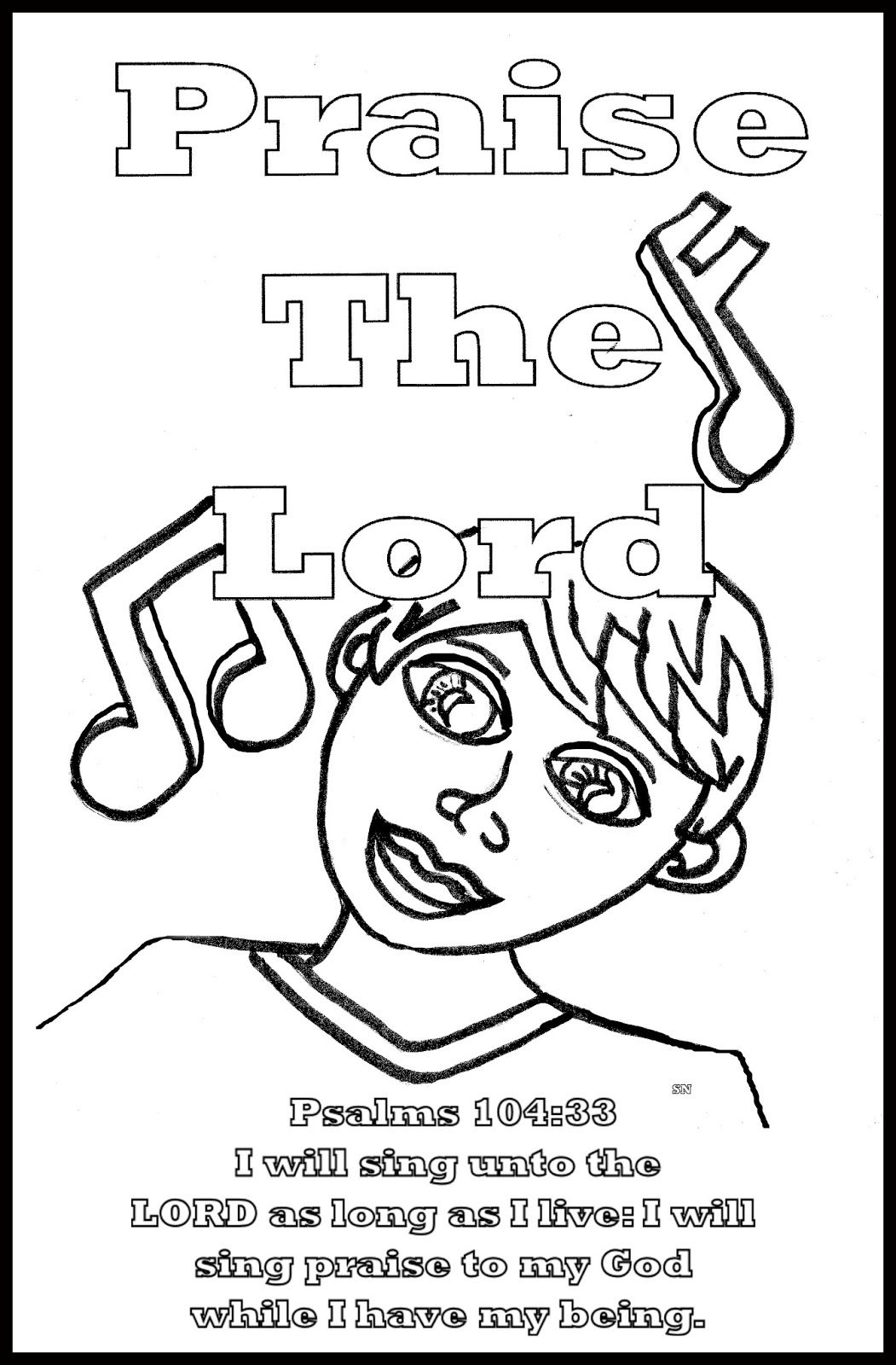childrens gems in my box praise the lord coloring sheets sunday school free kids bible coloring pages Praise The Lord Coloring Page