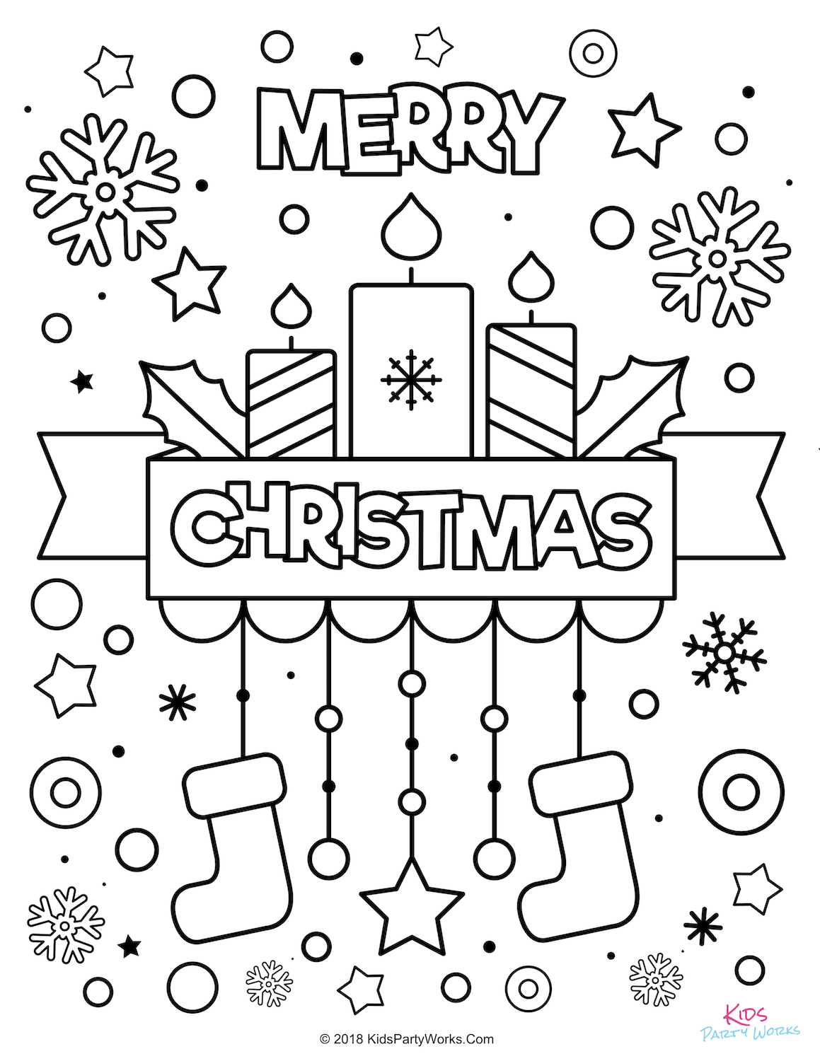 christmas coloring to print merry trace pad art 9x12 construction paper kids thanksgiving coloring pages Christmas Coloring Page To Print