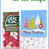 christmas tic tac wraps written reality free printable labels sign languagehand pupppet coloring pages Free Printable Tic Tac Labels