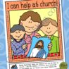 church service activity can help at poster or coloring for nursery ages sunbeam lesson coloring pages I Can Be Reverent Coloring Page