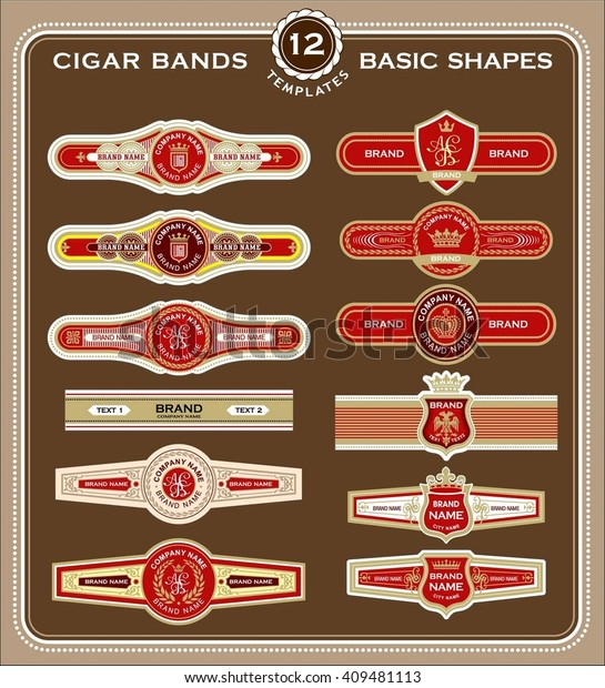 cigar band label template labels for your ideas free printable set old fashioned 600w coloring pages Free Printable Cigar Labels