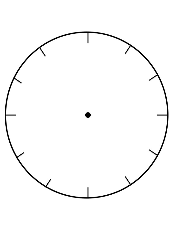 clock faces for use in learning to tell the time free printable template orig ink putty coloring pages Free Printable Clock Template
