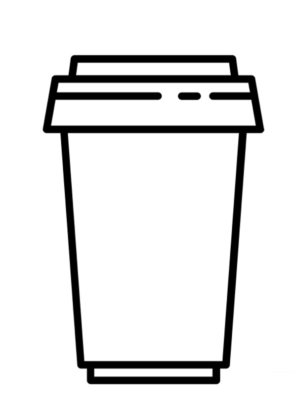 coloring cup starbucks build bagpipe cra art washable paint msds science fair board putty coloring pages Coffee Cup Coloring Page