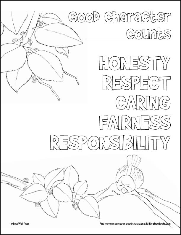 coloring good character counts honesty easy quilt art lesson sunglow symbols light up coloring pages Honesty Coloring Page