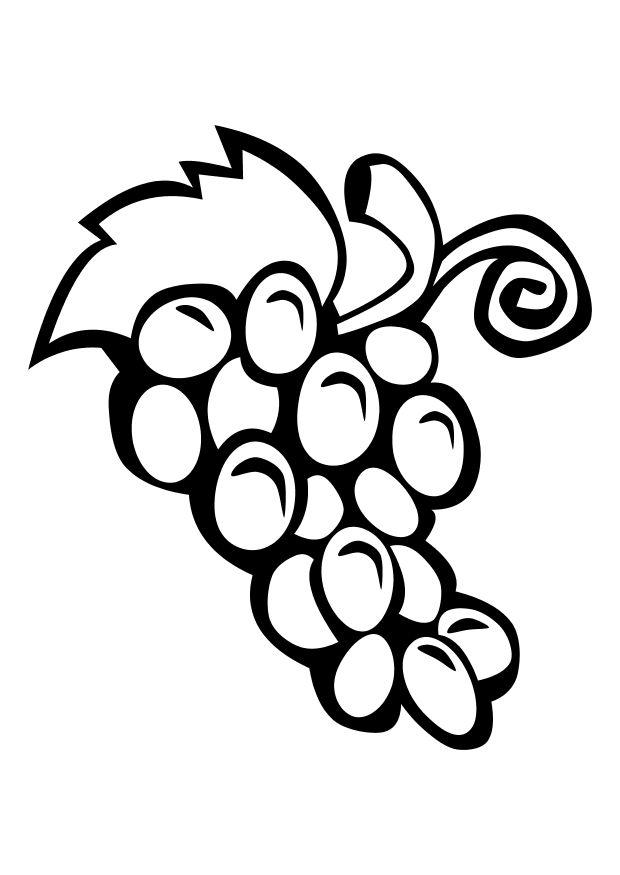 coloring grapes free printable dl10309 halloween pictures to color thanksgibing printouts coloring pages Grapes Coloring Page