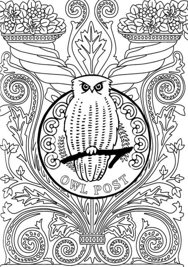 coloring harry pieces print wonder for children and adults hogwarts shark sheet coloring pages Hogwarts Coloring Page