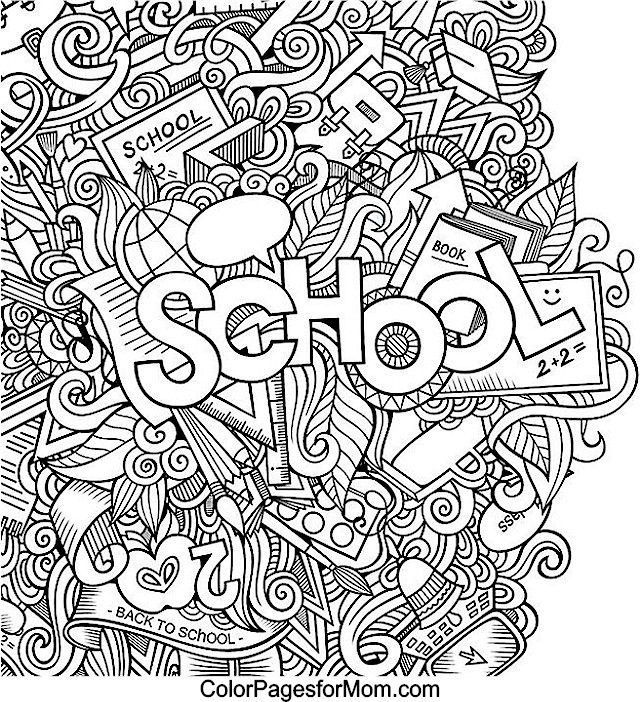 coloring middle school and worksheet color by numbers kindergarten animal st comic frozen coloring pages Middle School Coloring Page