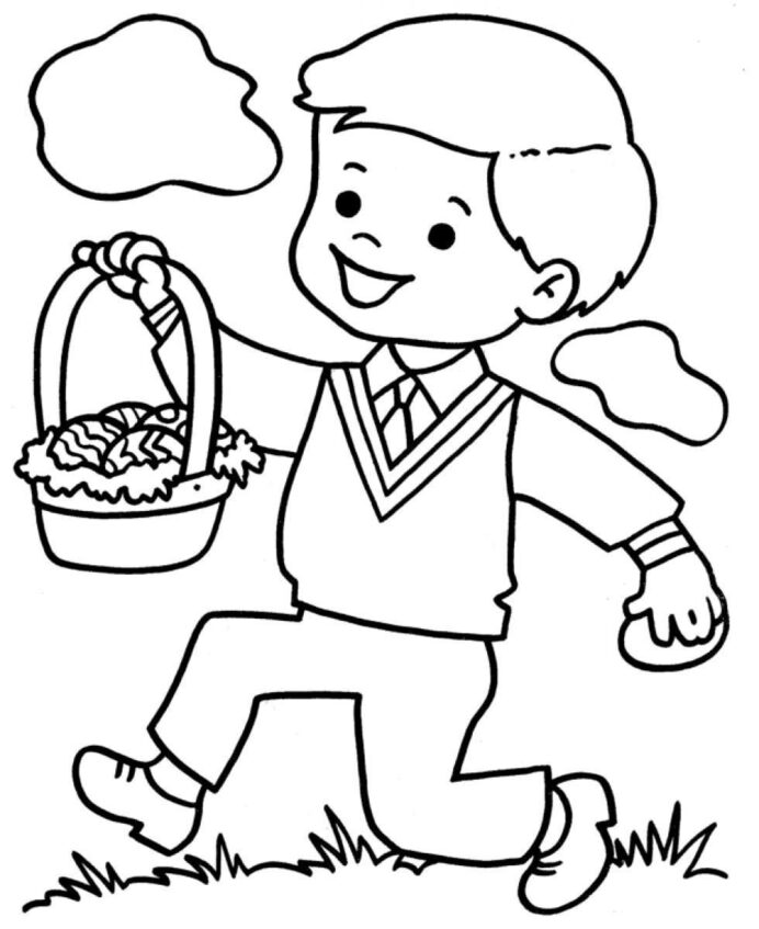 coloring of little boy home 9c4borjmi razzamatazz color colored text math worksheets coloring pages Little Boy Coloring Page