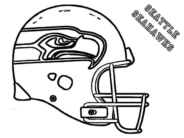 coloring rocks football seahawks helmet seattle solider sheets art with edge kids paint coloring pages Seattle Seahawks Helmet Coloring Page