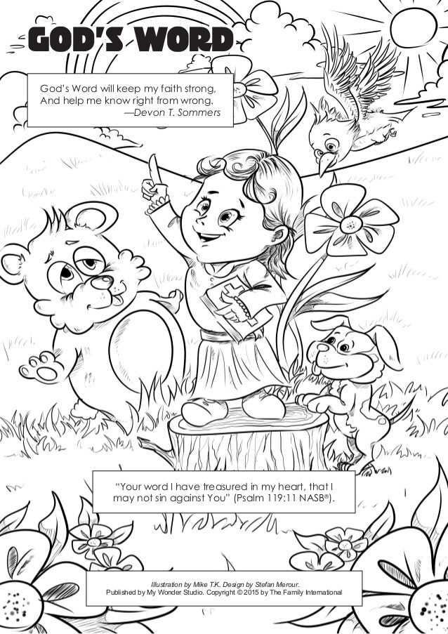 coloring word gods christmas website colors dinosaurs for adult free pdf remove crayon coloring pages God's Word Coloring Page