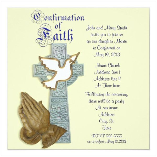 confirmation invitation templates template free vector printable invitations cards whole coloring pages Free Printable Confirmation Cards