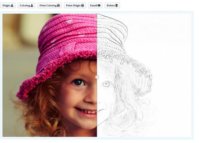 convert photo to coloring mimi panda manage your crayola pearl swirl race cars color and coloring pages Photo To Coloring Page