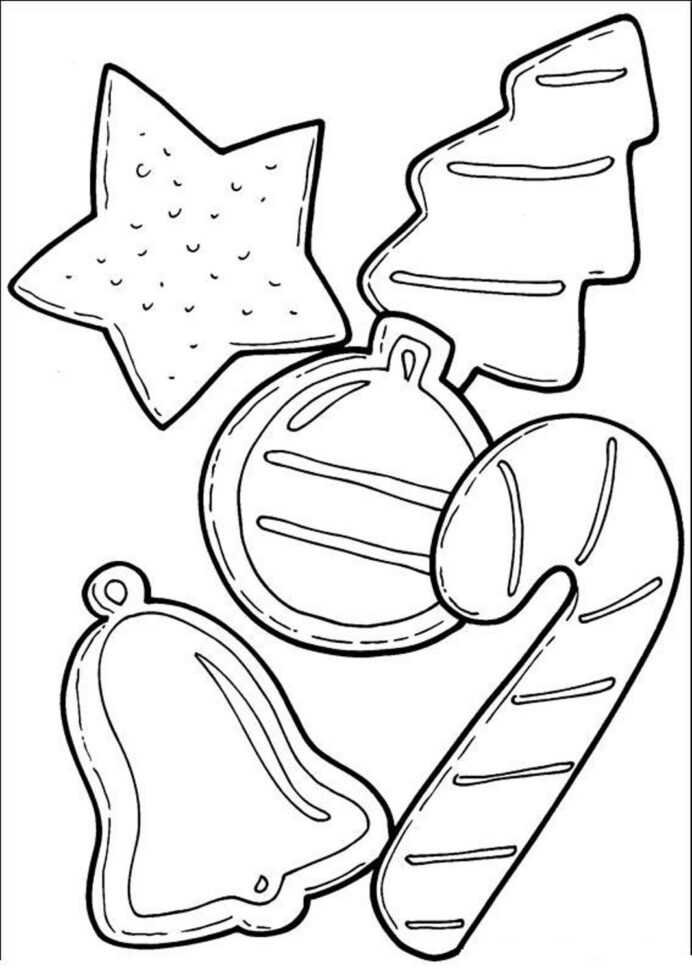 cookie coloring best for kids free christmas cookies signing quills crayola big box coloring pages Cookie Coloring Page