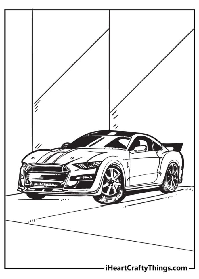 cool car coloring original and free cars is lime color crayola human resources art sub coloring pages Cool Cars Coloring Page