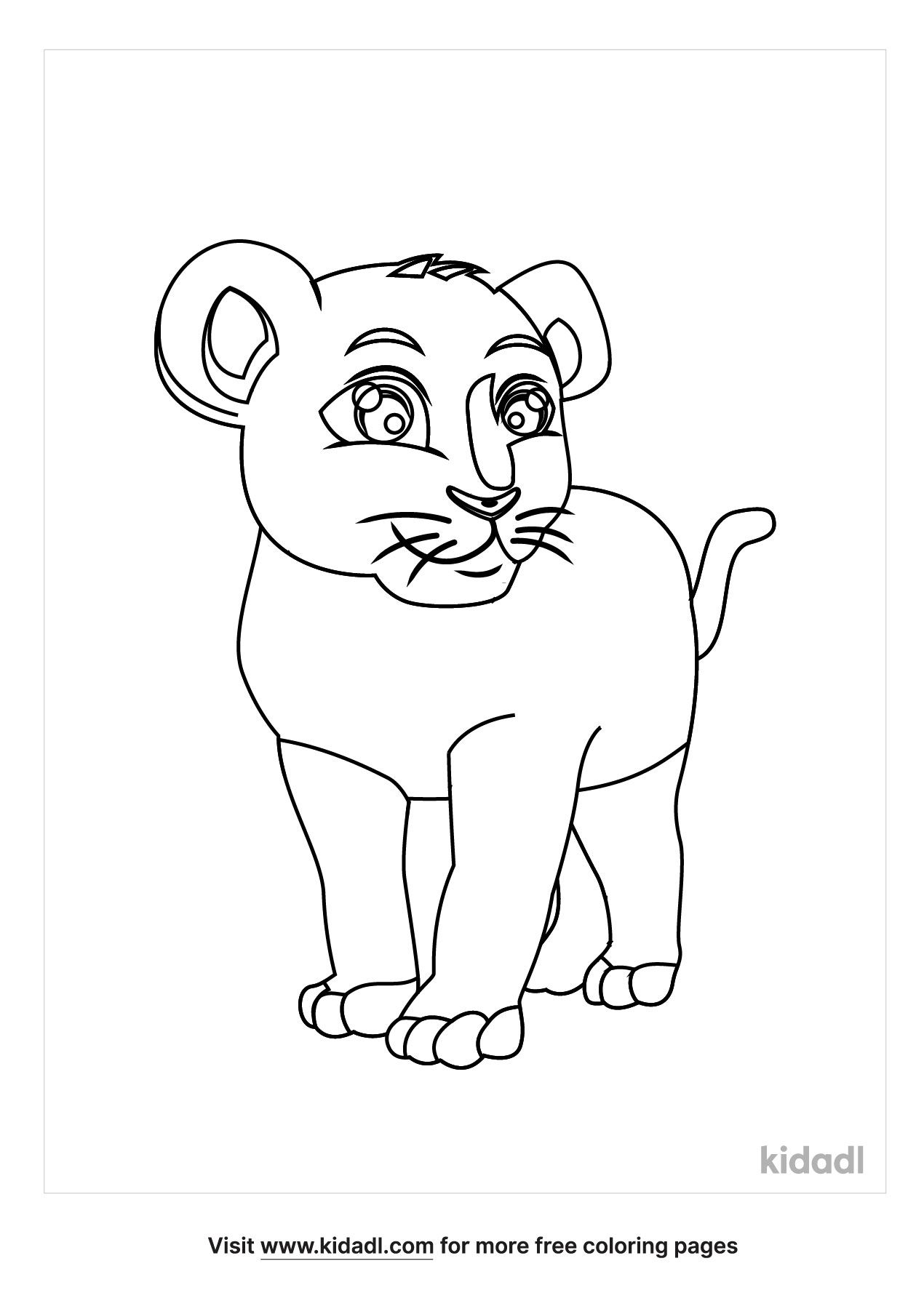 cougar coloring free animals kidadl lg tattoo skin pen dragon printable pictures happy coloring pages Cougar Coloring Page
