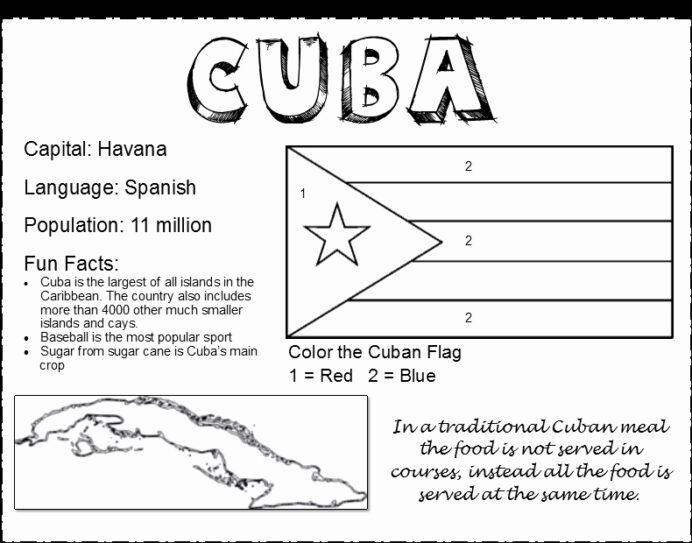 cuban flag coloring posted by sarah holiday gift under bulk pencils free color sheets for coloring pages Cuba Flag Coloring Page
