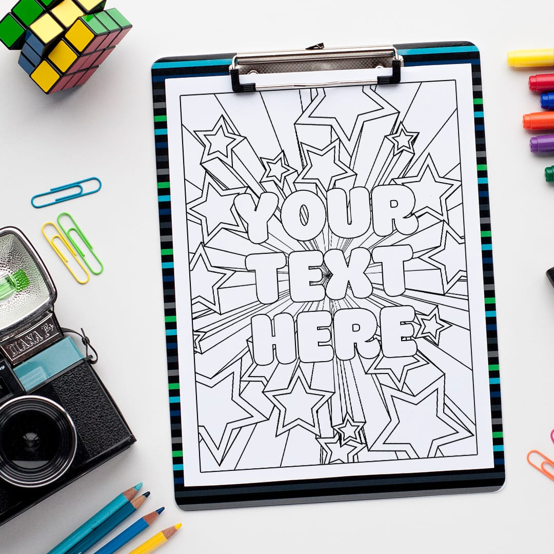 custom coloring from your message sarah renae book artist and designer stars color coloring pages Custom Coloring Page