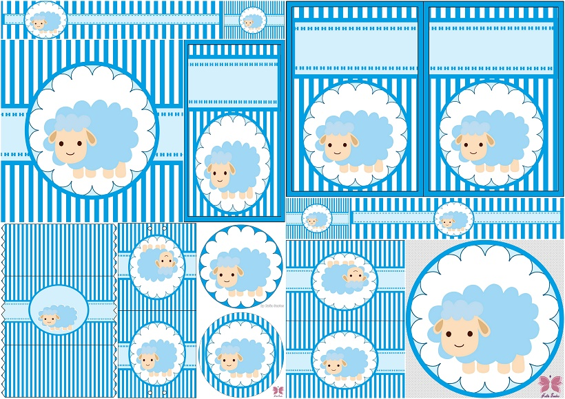 cute sheep for boy baby party free printable candy bar labels oh my shower wrappers lambs coloring pages Free Printable Baby Shower Candy Bar Wrappers