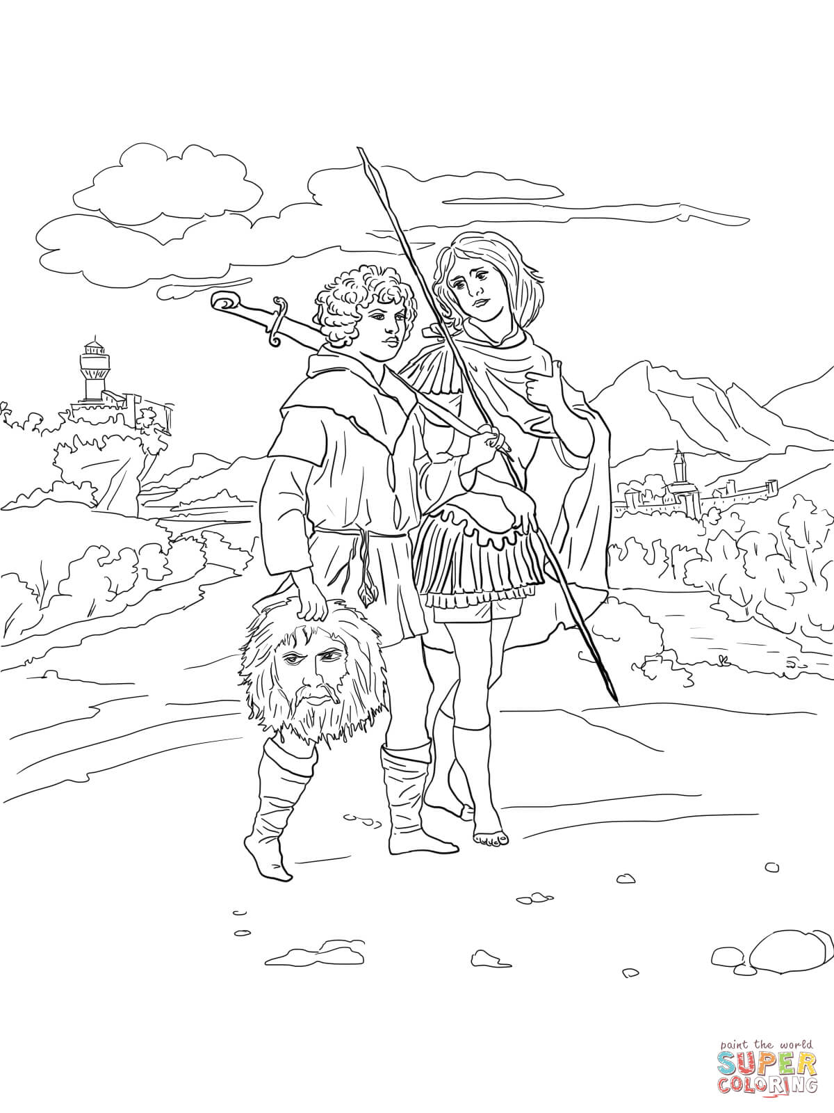 david coloring free home dc7jzmkzi gifts for sudents books color blending markers coloring pages David Coloring Page