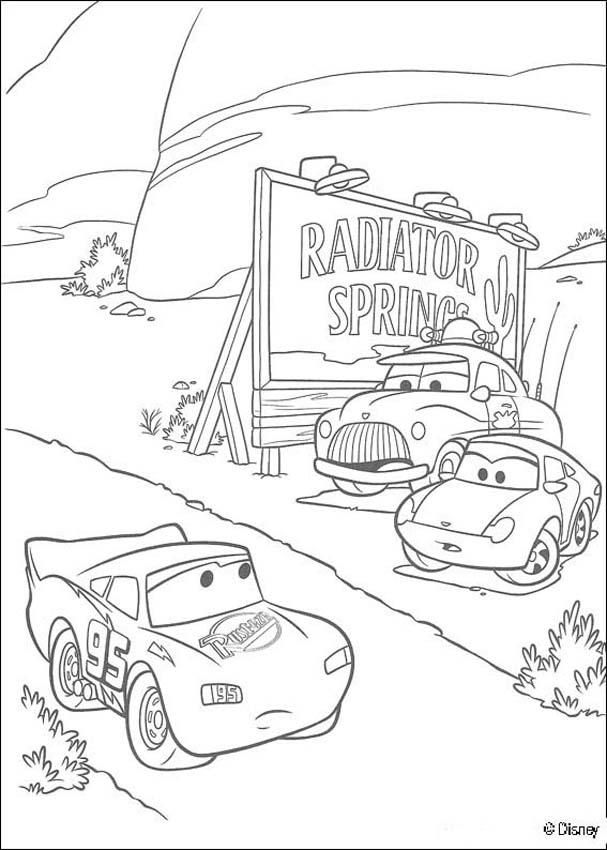 disney cars lightning mcqueen tow mater and coloring home qtbakaat5 teen whiteborad that coloring pages Doc Hudson Coloring Page