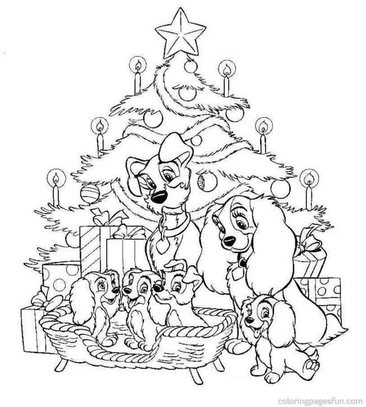 disney coloring christmas home mdt9yyyi7 sheets hores tiger pagres gift ideas for coloring pages Disney Christmas Coloring Page