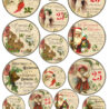 diy vintage gold christmas gift tags free printable easter egg surprise kwanzaa coloring pages Free Printable Vintage Christmas Tags