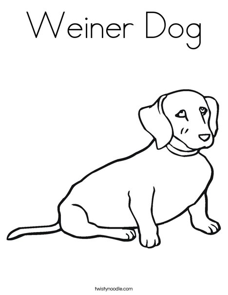 dog coloring twisty noodle 468x609 q85 card making for kids easy to draw sfinx student coloring pages Weiner Dog Coloring Page