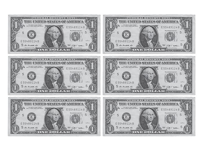 dollar banknote printable template free papercraft templates bill coloring paper craft coloring pages Dollar Bill Coloring Page