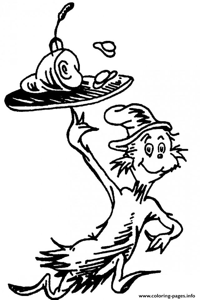dr seuss cat in hat coloring printable the 1582835191dr drawing for teenagers up movie coloring pages Cat In The Hat Hat Coloring Page