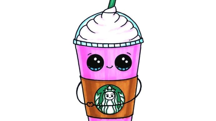 excellent image of starbucks coloring davemelillo cute drawings cool cup witch color coloring pages Starbucks Cup Coloring Page