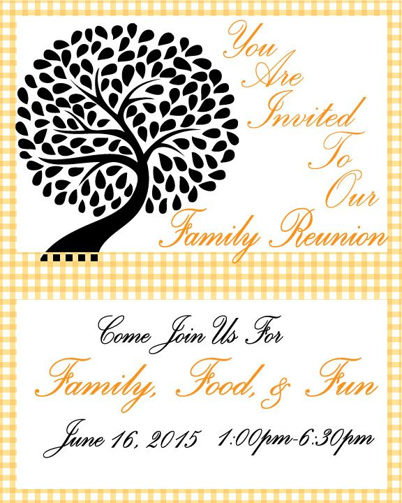 family invitation free printable invitations templates dsiney characters animals to color coloring pages Free Printable Family Reunion Templates