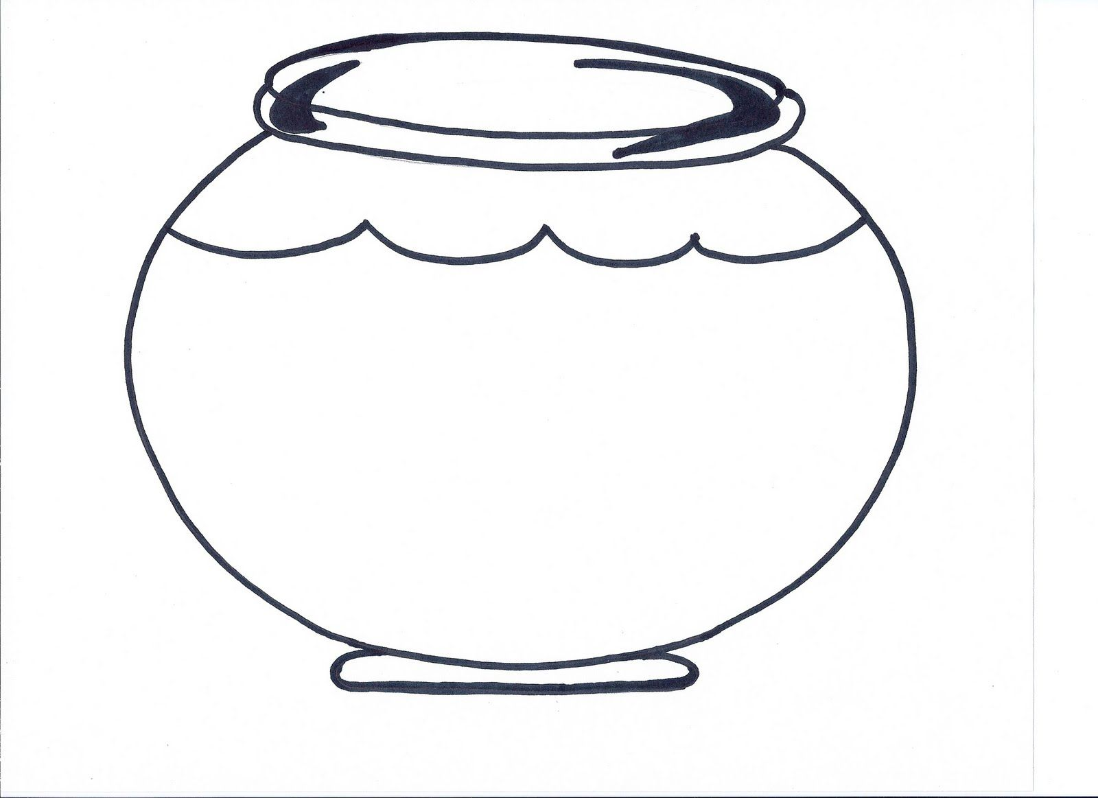 fish bowl coloring printable home 9czxroepi pumpkins to color red and violet best smells coloring pages Fish Bowl Coloring Page
