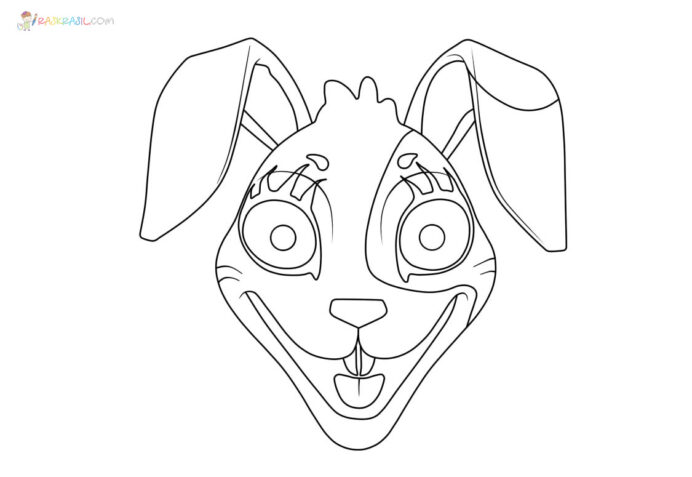 five nights at freddy coloring pictures free printable raskrasil freddys security breach coloring pages Freddy Coloring Page