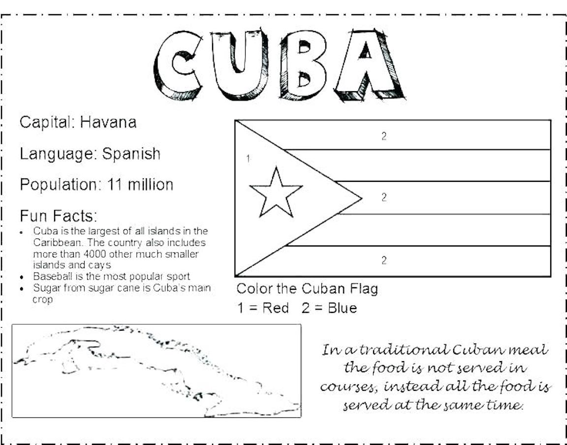 flag national flags and free printable international maps coloring matisse can draw color coloring pages Cuba Flag Coloring Page