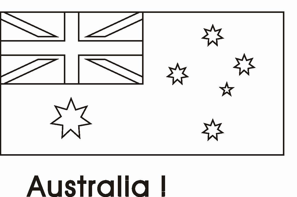 flag of coloring fresh australian colouring in flags crayola conical tip marker anti dust coloring pages Australian Flag Coloring Page