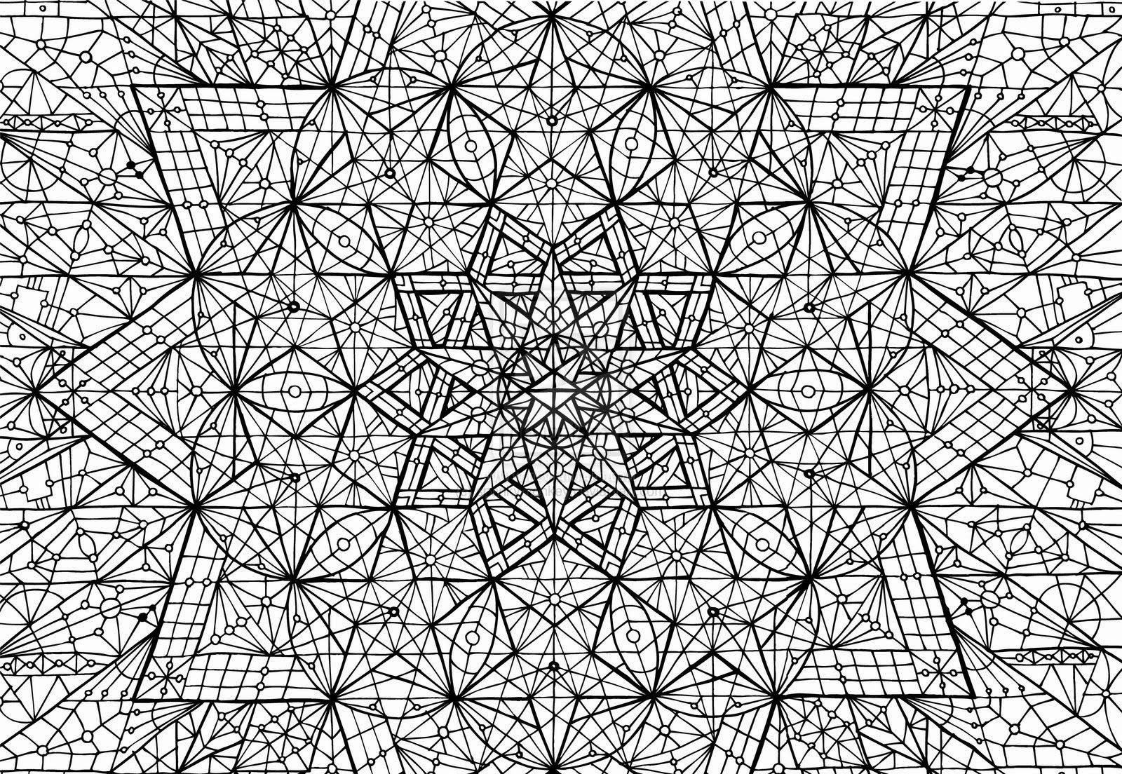 free advanced geometric coloring images on clipart library riaykj4kt periwinkle color coloring pages Geometric Coloring Page