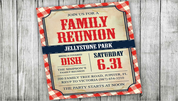 free beautiful family invitation designs in vector ms word publisher printable templates coloring pages Free Printable Family Reunion Invitation Templates