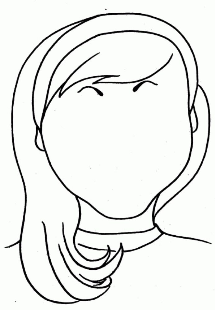 free blank coloring images on clipart library finger painting paper colouring book for coloring pages Blank Face Coloring Page