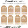 free bridal shower printables printable market wine tags for wrapping paper crafts robot coloring pages Free Printable Wine Tags For Bridal Shower