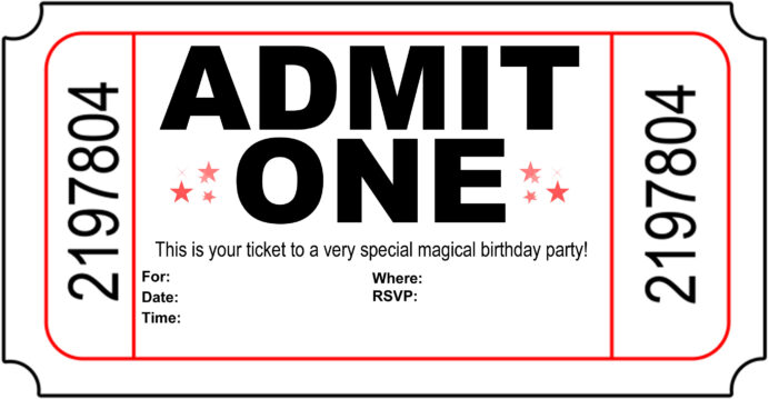 free carnival ticket invitation template images on clipart library printable templates coloring pages Free Printable Carnival Invitation Templates