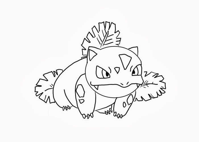 free coloring and books for kids ivysaur teen art set crayon decorations skeleton to coloring pages Ivysaur Coloring Page