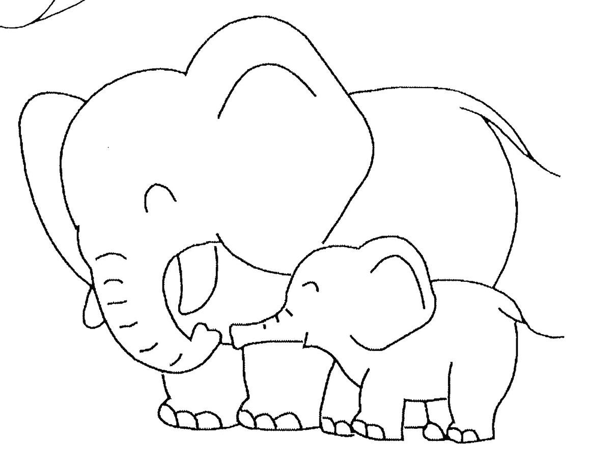 free coloring elephant template colouring pictures baby create and play sketch light toy coloring pages Baby Elephant Coloring Page