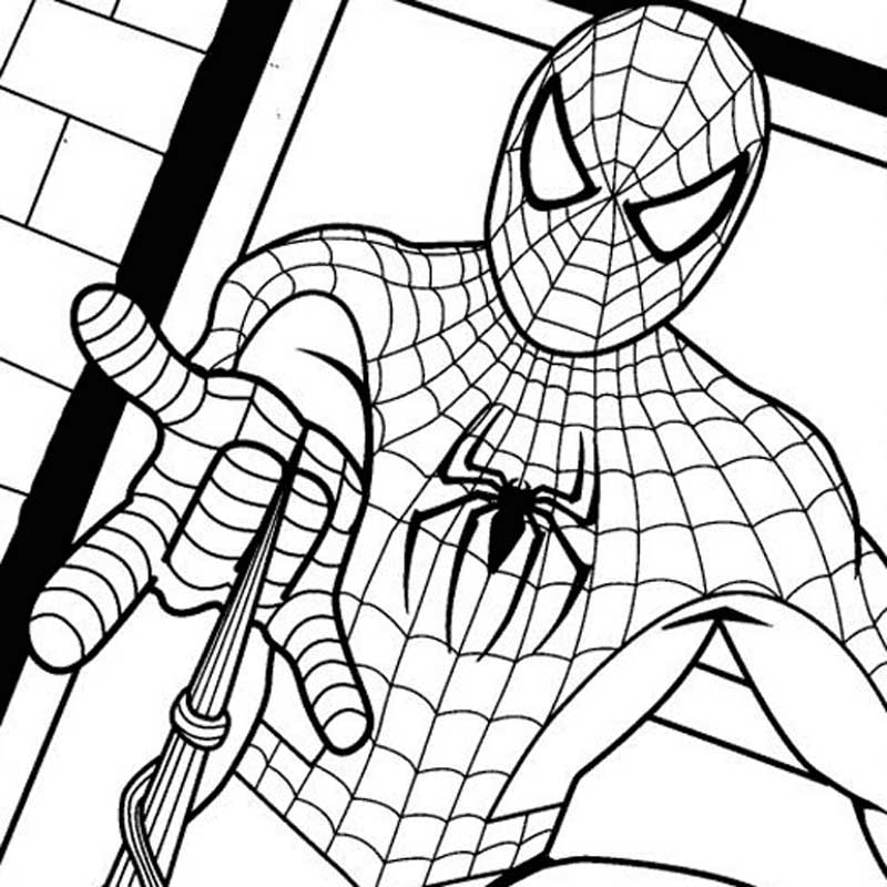 free coloring for teens spider man farm print and color drawings ox cart template kids coloring pages Coloring Page For Teens
