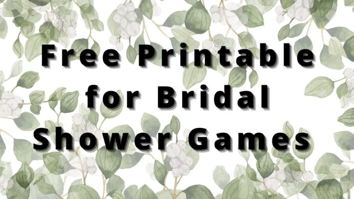 free downloadable bridal shower games printable bingo cards cover photo disney pictures coloring pages Free Printable Bridal Shower Bingo Cards