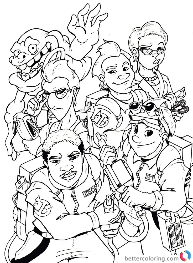 free ghostbusters coloring for kids and adults disney stay puft marshmallow man fox coloring pages Stay Puft Marshmallow Man Coloring Page