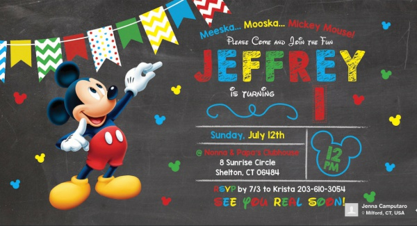 free mickey mouse birthday invitation designs in invites printable party knucklebones coloring pages Mickey Mouse Birthday Invites Free Printable