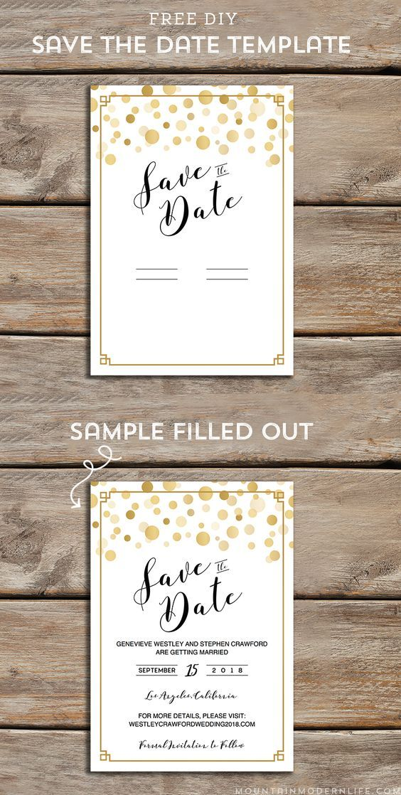 free modern diy save the date template dates templates invitations printable postcard coloring pages Free Printable Save The Date Postcard Templates