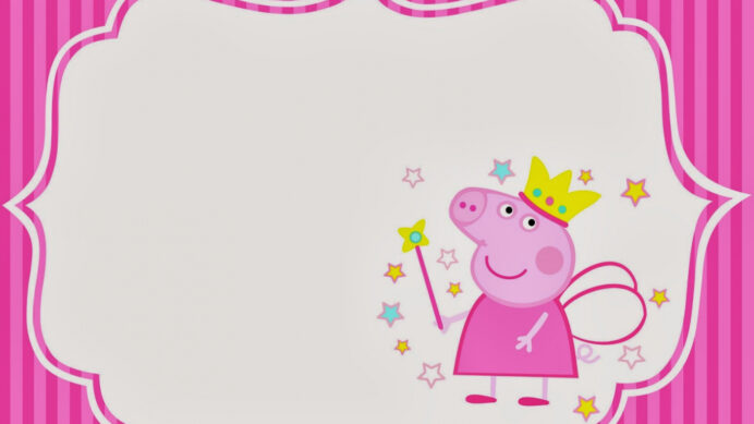 free peppa pig fairy invitations and party printables oh my fiesta 1600x1066 for your coloring pages Peppa Pig Invites Printable Free