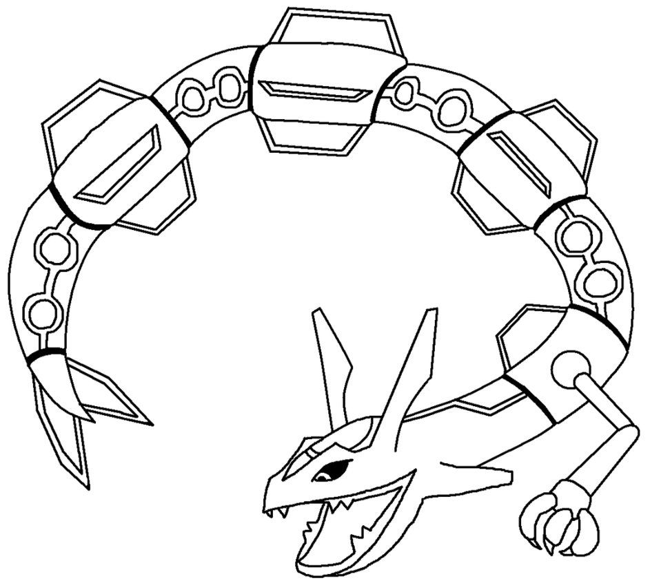 free pokemon coloring rayquaza images on clipart library mega acqbrlmki starry sky text coloring pages Mega Rayquaza Coloring Page